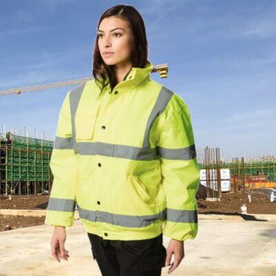 Personalised Hi Vis Jacket