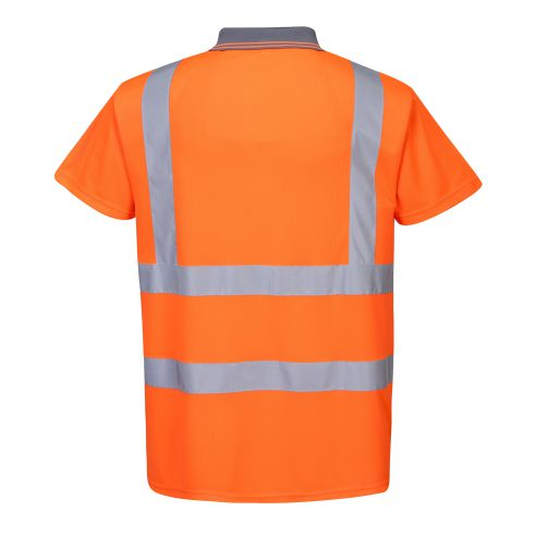 Hi Viz Polo Shirt Orange