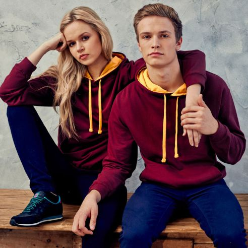 Hoodies two colour uk