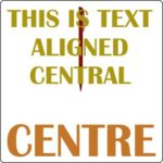 Aligned Central