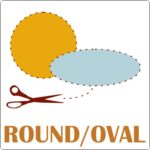 Round or Oval Stickers